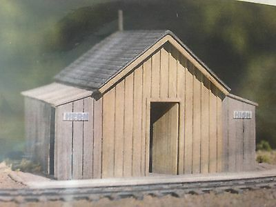 Csm -  S Scale - Telluride Depot Outhouse- Csm-133S New Item