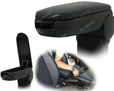 Armlehne new Armrest SEAT LEON TOLEDO 1M Accoudoir Mittelarmlehne LEATHER BLACK
