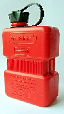 Universal Motorcycle ATV Scooter Plastic Fuel Friend Petrol Can E Marked 1.0L