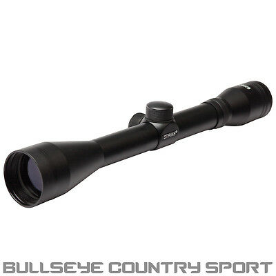 Strike Systems Rifle Scope 6X40 Black Ideal For Airsoft / Target Shooting 11028