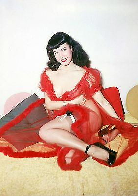 Bettie Page 35 (Playboy Pinup) Photo Print
