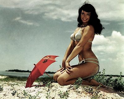 Bettie Page 17 (Playboy Pinup) Photo Print