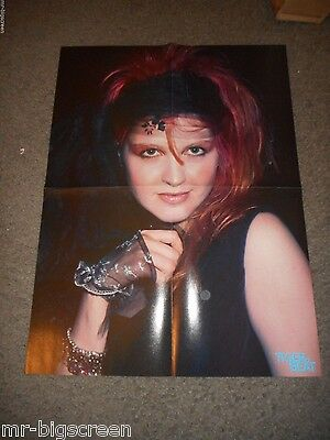Cyndi Lauper - Original Fold-Out Poster