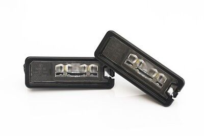 VW Golf MK4 4 MK5 5 Passat B6 New Beetle Eos LED License Number Plate Light-