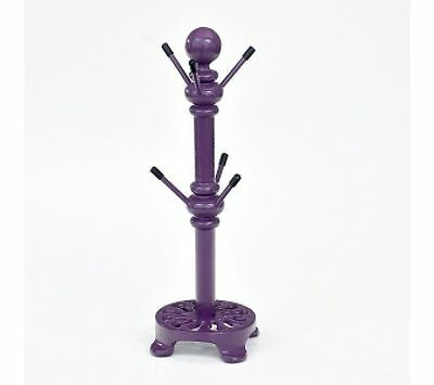 Victor Cast Iron Mug Tree in Berry