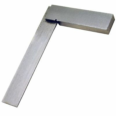 "4"" (100mm) Engineers Square Set Square Right Angle Straight Edge (IRE) TE423"