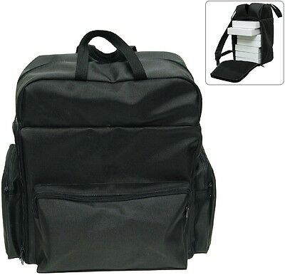 BACKPACK for JEWELRY CASE CARRY CASE TRAVELLING CASE BLACK SALESMAN TRAVEL CASE