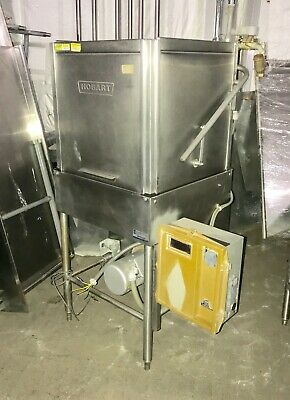 Hobart AM14 Dishwasher Commercial Upright Pass Though Door Type
