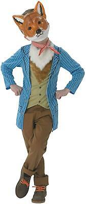Boys Fantastic Mr Fox Costume Book Day Week Fancy Dress Child Outfit