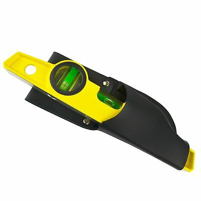 "10"" Cast Magnetic Scaffolding Level Scaffold Tools Spirit Level with Pouch TE33"