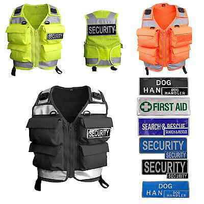 Niton Tactical 4 Pocket Utility Vest - Police/Military/Cadet/Security/Prison