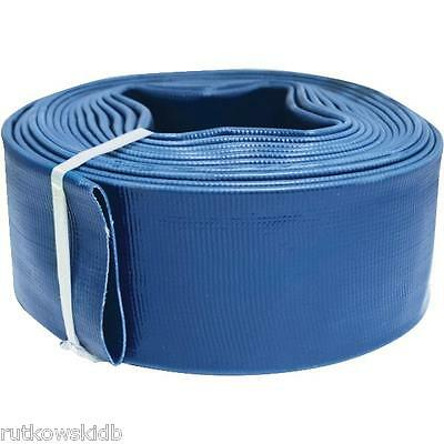 2-INCH by 100-FEET Apache Blue Reinforced PVC Discharge Hose