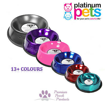 Platinum Pets CAT BOWL Stainless Steel Food Bowl 0.75 cups - Fish bone design