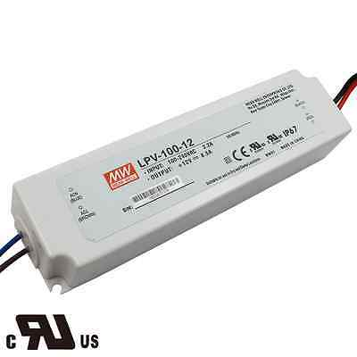 UL Certicified MEAN WELL Power Supply LPV-100-12,12V Output Voltage 100 Wattage
