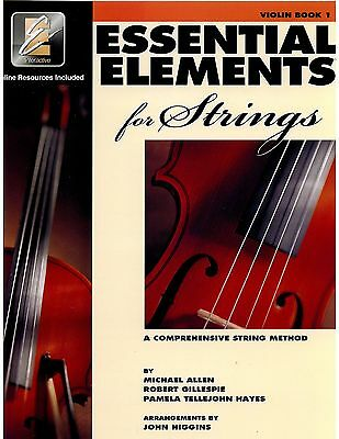 Essential Elements for Strings: Violin Book 1 with EEi