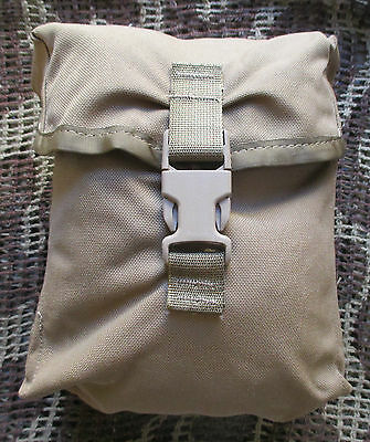 New Us Army/marines Molle Ii 200 Round Saw Gunner/utility Pouch. Coyote Brown.