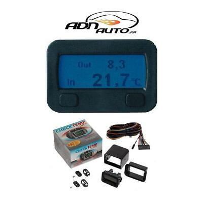 Thermometre digital interieur-exterieur 12V - CHECKTEMP