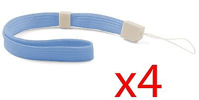 4x Blue Hand Wrist Strap For Wii Remote Controller PSP DSL 3DS DSi 2DS Switch