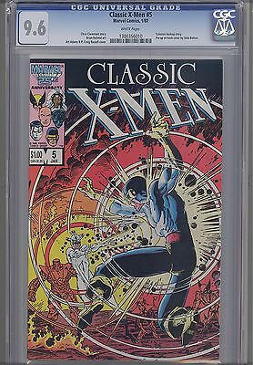 Classic  X-Men #5 CGC 9.6 1987 a  Marvel Comic: