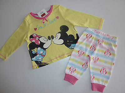 "DISNEY Gorgeous MINNIE & MICKEY ""So in Love"" PJ's NWT"