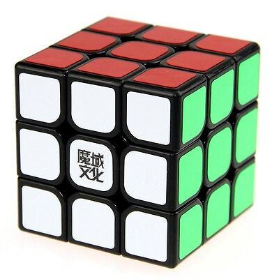 MoYu Weilong Black Speed Cube Magic Puzzle Twist Puzzles Toy Enhanced Version