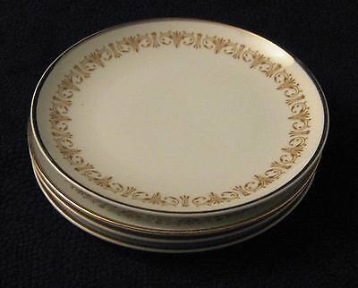 Sheffield Imperial Gold MPN 504 -  Bread Plates Set of 4  - Japanese Fine China