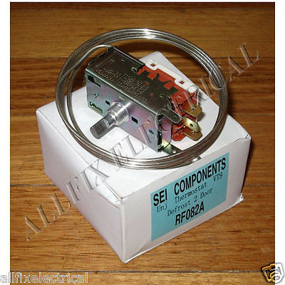 Universal Two Door Cyclic Defrost Refrigerator Thermostat Kit - Part # RF082A