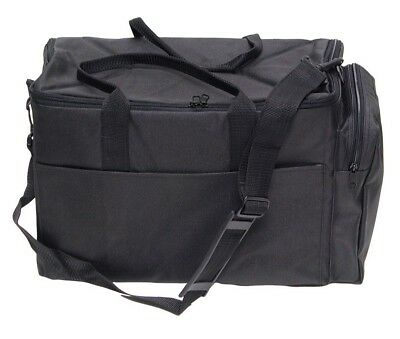 DELUXE CARRYING CASE JEWELRY CARRY CASE DUFFEL TRAVELING CASE for TRAYS & LINERS