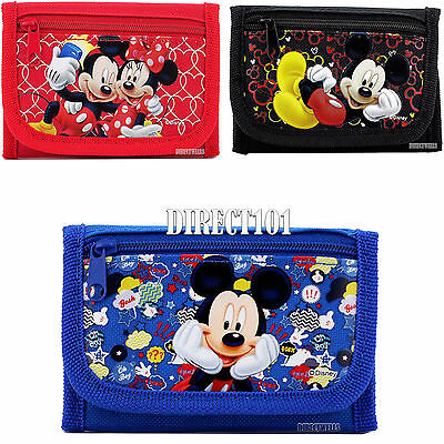 Disney Mickey Mouse Authentic Licensed Trifold Wallet