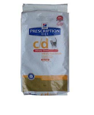 8kg Hills Prescription c/d Urinary Stress, Diet, Katzenfutter
