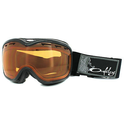 Oakley Snow Goggles Stockholm Jet Black Persimmon 02-966