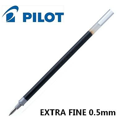 1 Recharge Pilot G-1 Pour Stylo Rollerball Noir 0.5Mm Extra Fine Bls-G1-5-Nf