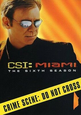 CSI: Miami - The Sixth Season [6 Discs] (2008, DVD NEW)