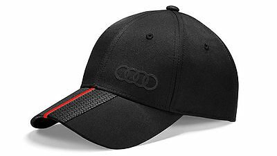 Original Audi Collection Premium Cap Unisex Schwarz 3131401000 -NEU-