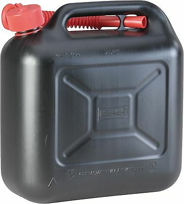 Hünersdorff Spare jcanister 812800, 10 Litre with Outlet pipe, Jerry can