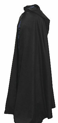 DARK NAVY WOOL FEEL Cloak Legoslas/Lord Of The Rings/Pagan/RITUAL/DRUID//WICCAN