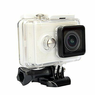 EACHSHOT® 40m Underwater Waterproof Protective Housing Case For Xiaomi Yi White
