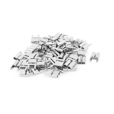 50 Pcs Auto Middle Size Fast Acting Type PCB 5.2 Fuse Blade Terminal