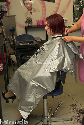 All purpose cape Friseurumhang Wasch-/Färbeumhang Trend Design hairtime a0056