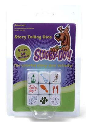 NEW Scooby Doo Story Telling Dice Game - FREE Shipping