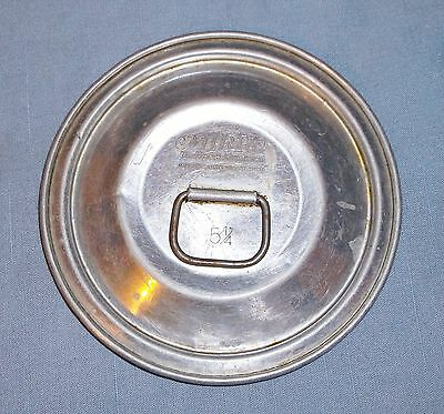"Vintage Mirro Aluminum 5 1/4"" Pot Pan Lid Cover Replacement"