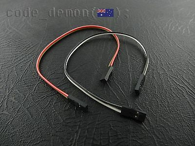 New  2 Pin Dupont Cable Jumper Wire 210mm Female (x2) - Arduino Quadcopter