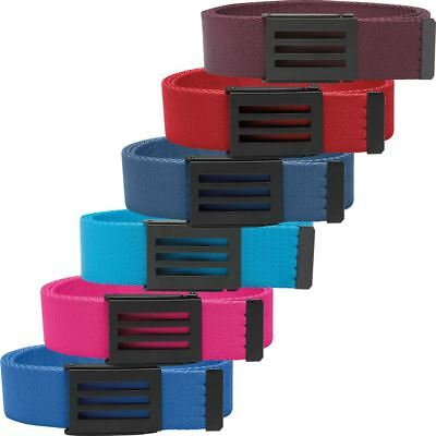 *NEW FOR 2016* Adidas Belt 3-Stripes Mens Funky Golf Webbing Belt - One Size