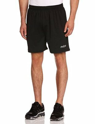 "Mitre Metric Unisex Adult Football Short - Black , M 32""-34"" Inch"