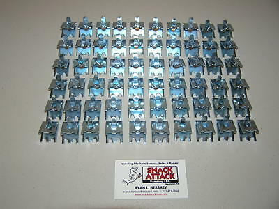 TRUE, BEVERAGE AIR & FOGEL (60) COMMERCIAL COOLER / FREEZER SHELF CLIPS - New!