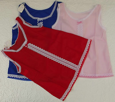 Vintage childrens clothes Brushed nylon underwear Girls slip Ladybird Age 2 year