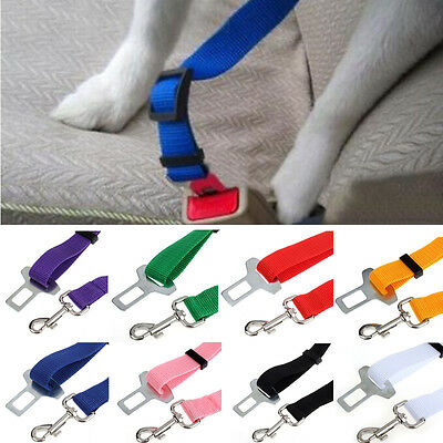 Adjustable Small Cat Dog Pet Safety Seatbelt Car Vehicle Seat Belt Harness Lead