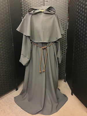 Monk Robe In Polyester Choice Of Colours Fancy Dress Halloween