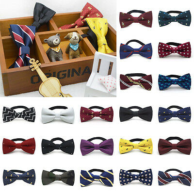 Hot Baby Kids Toddler Boy Girl Party Bowtie Pre Tied Wedding Bow Tie Necktie