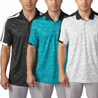Adidas 2016 ClimaCool® Engineered Bloquer Hommes Golf Performance Polo Chemise